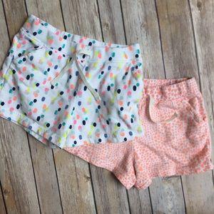 Carters shorts bundle